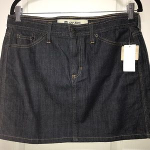 🌟Brand New🌟 GAP Dark Denim Mini Skirt